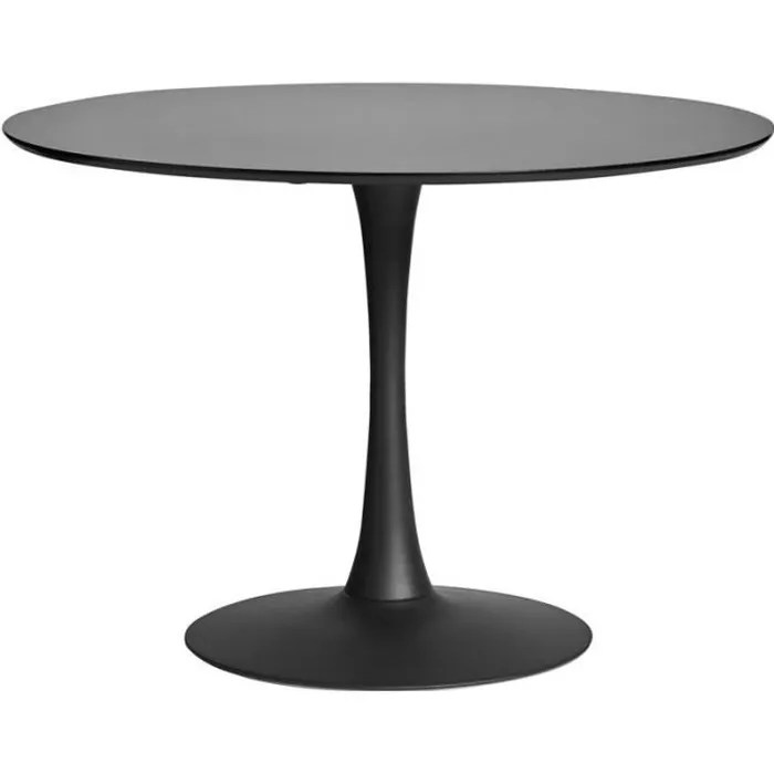 table de jardin pied central