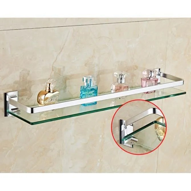 etagere salle de bain en verre