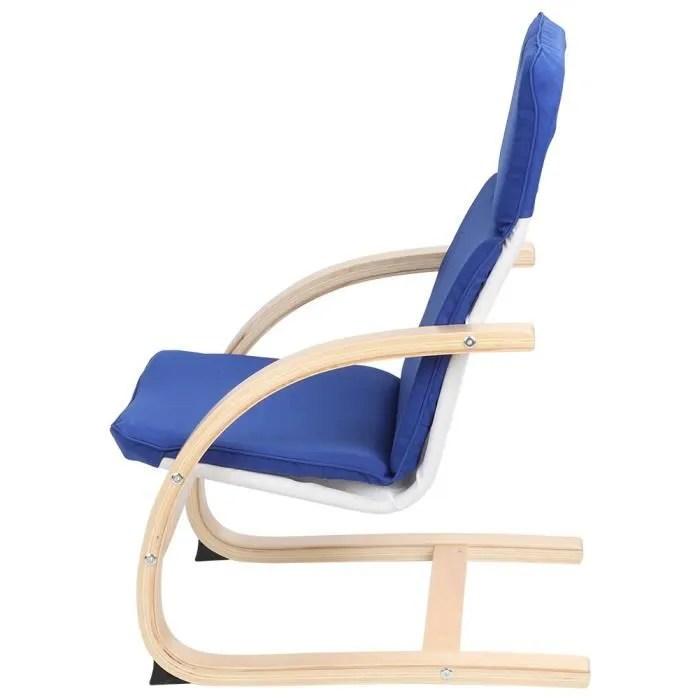 fauteuil a bascule pour enfants inclinable chaise bercante longue pour enfants rocking chair enfant en bois pour salon chambre