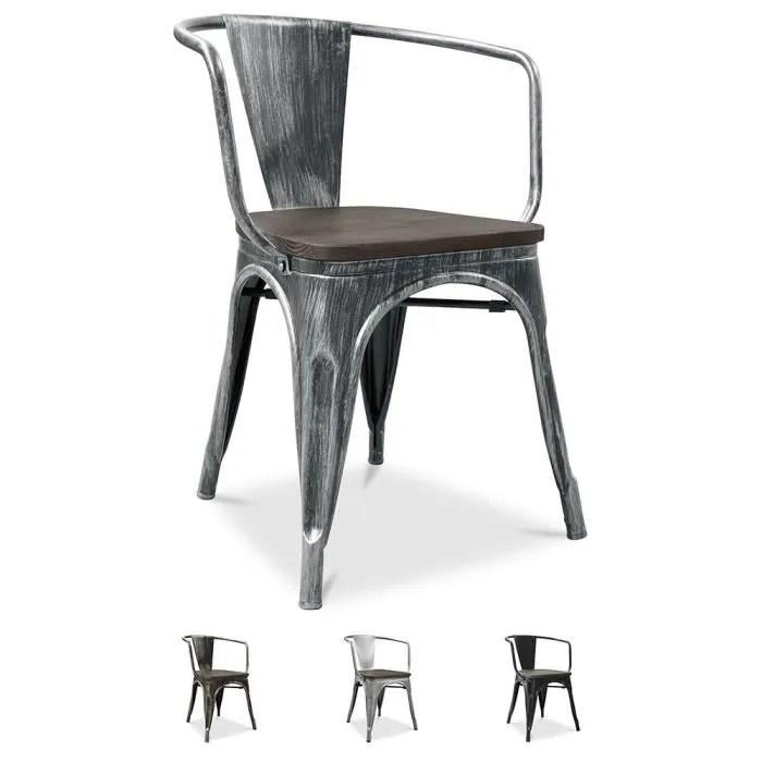chaise tolix pauchard style acier 51 5