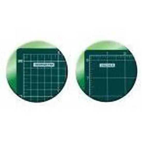 olfa tapis de decoupe autocicatrisant vert format a2 620 x 450 mm