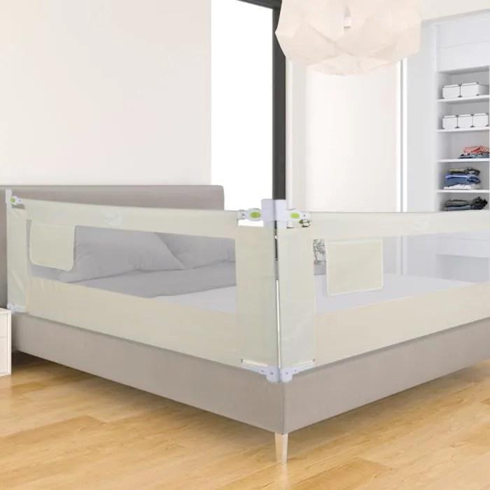 barriere de lit pour enfants portable barriere de securite pour lit de bebe hauteur reglable protection bord de lit