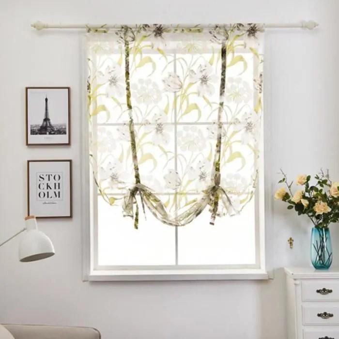 rideaux voilages 80x120cm decoration de fenetre souple tulle draperies pour salon cuisine chambre a coucher