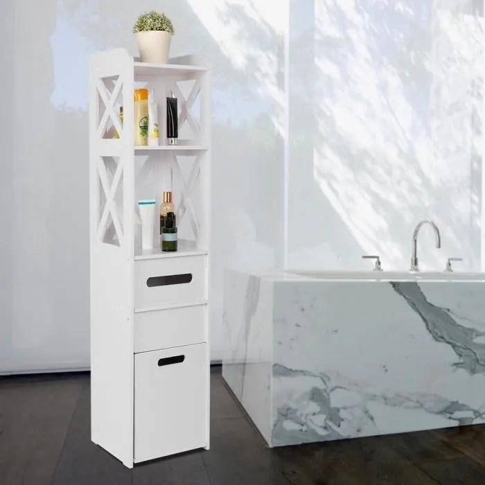 meuble de salle de bain armoire colonne