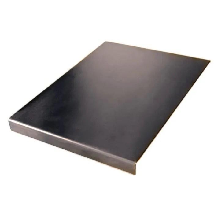 plan de travail en acier inoxydable planche a decouper carree bord a plat ou rond voir tous les prix des variation tailles in