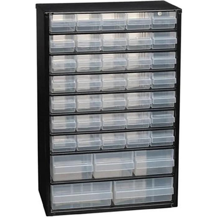 casier a vis metallique 40 tiroirs raaco