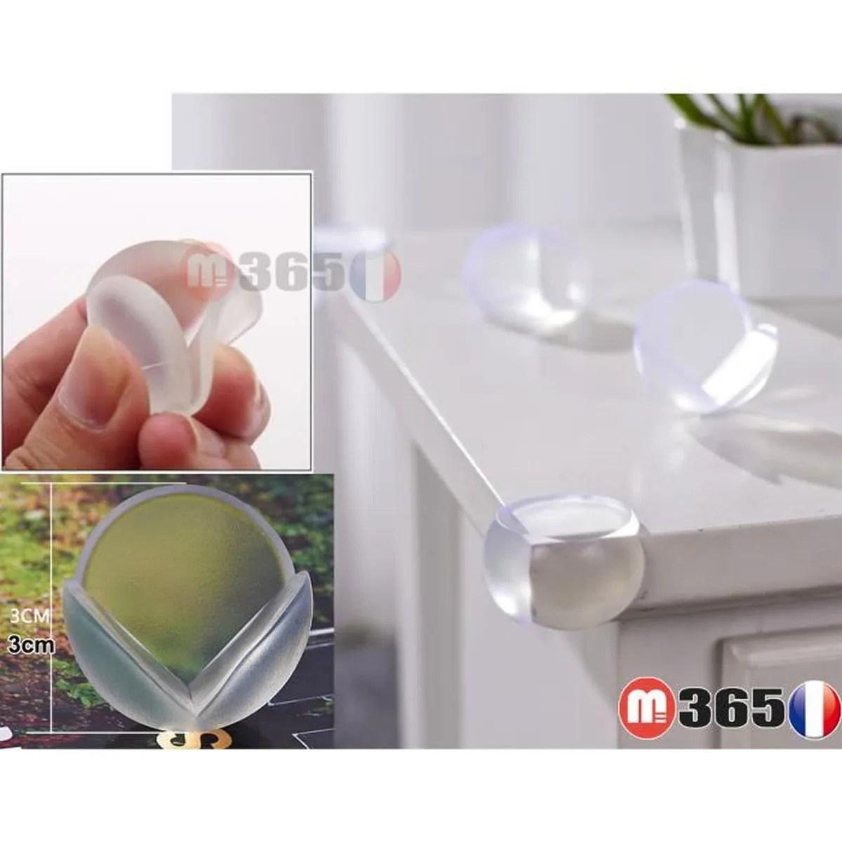 lot de 10 protection d angle table protege coins meuble protecteur angle pare choc