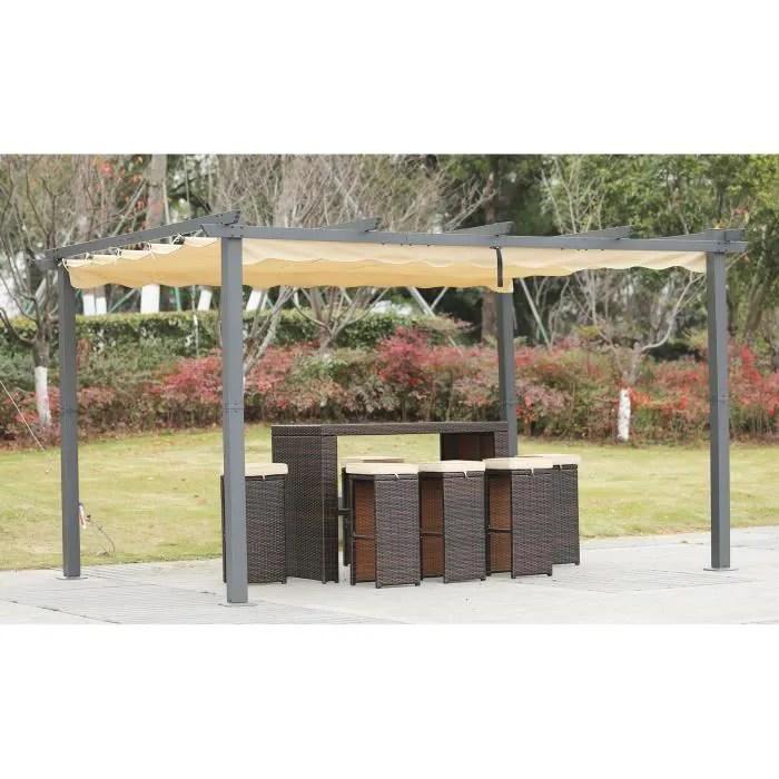 toit de terrasse aluminium