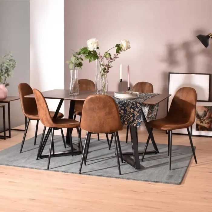 furnish1 ensemble table et 6 chaises de salle a ma
