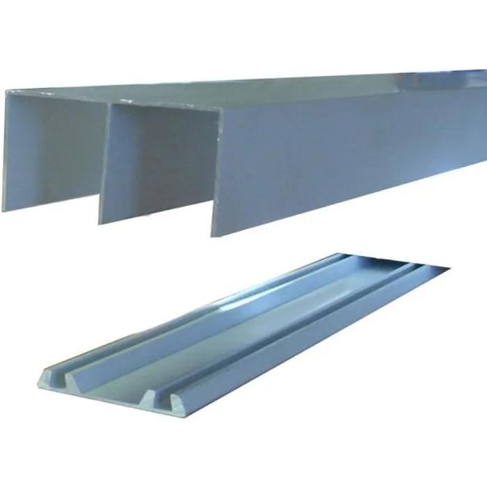 rails de placard coulissant longueur 1 20 m