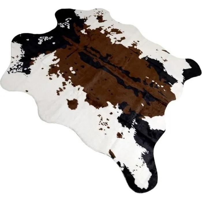 tapis peau vache