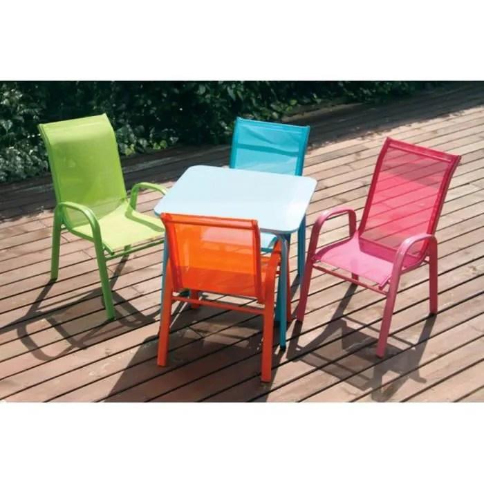 fauteuil moderne colore chaise enfant