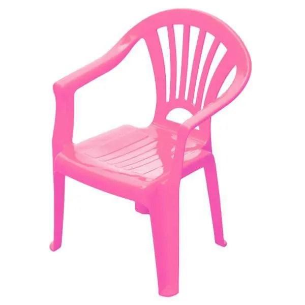 chaise enfant plastique rose achat
