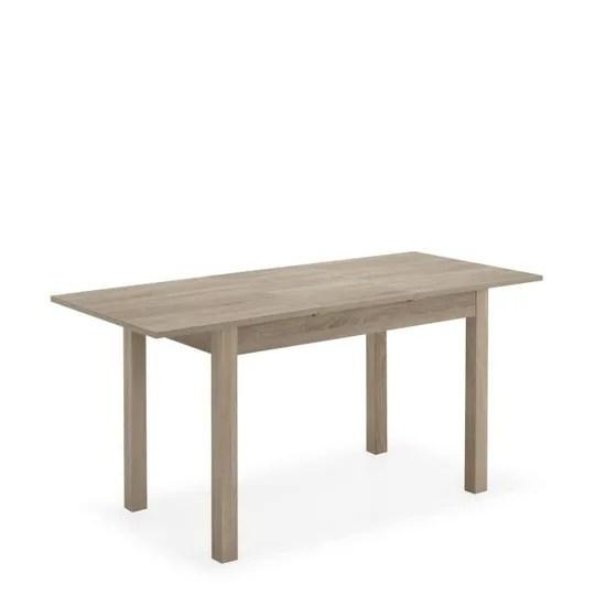 Tenor Table Extensible Avec Une Allonge L120cm A L160cm Achat Vente Table A Manger Seule Tenor Table Extensible Avec Soldes Sur Cdiscount Des Le 20 Janvier Cdiscount
