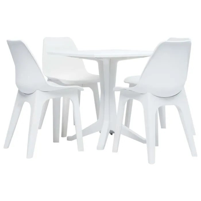 4 chaises bistrot de jardin terrasse