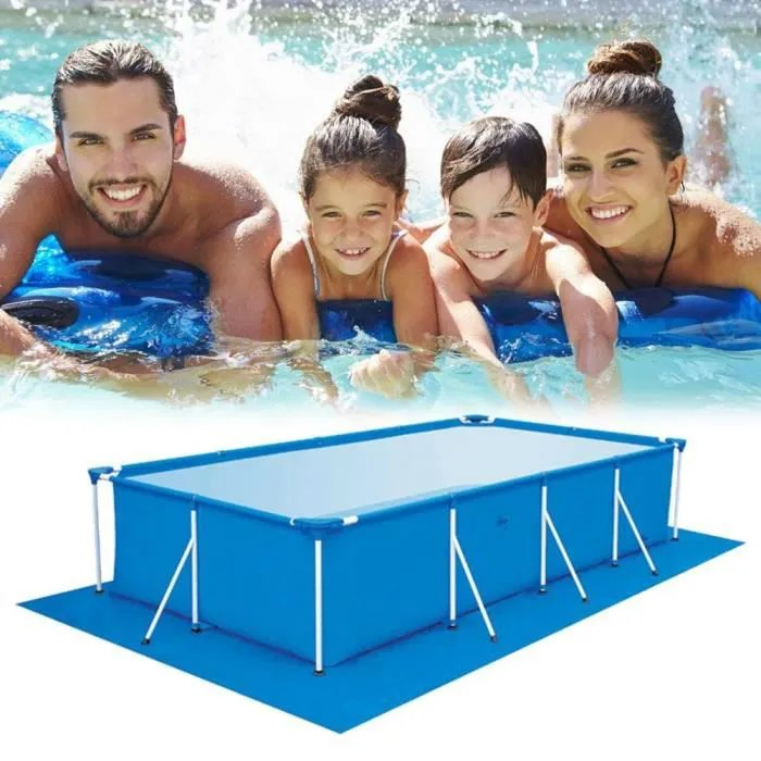 tapis de piscine de plancher carre tapis de sol p