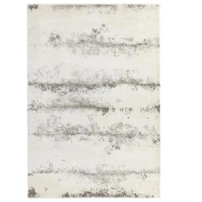 novatrend tapis moderne tisse plat cloud blanc