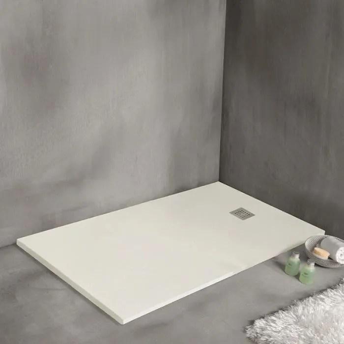 receveur de douche 100 x 80 cm extra plat strat