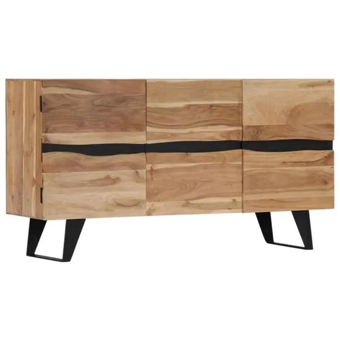 buffet bas meuble de rangement scandinave buffet