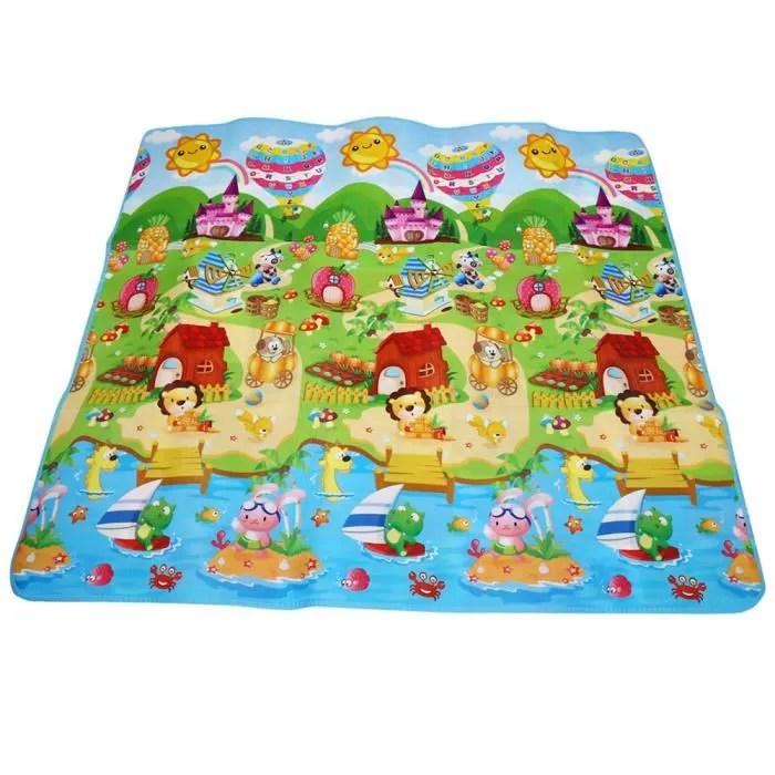 tapis enfant tapis mousse epais tapis de jeu jouet