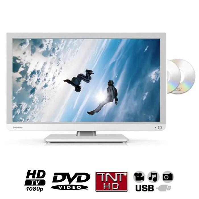 toshiba 22d1334g tv dvd integre 55 cm