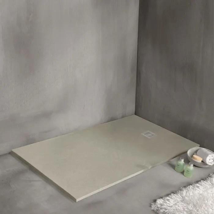 receveur de douche 120 x 80 cm extra plat strat