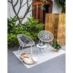 fauteuil jardin rond