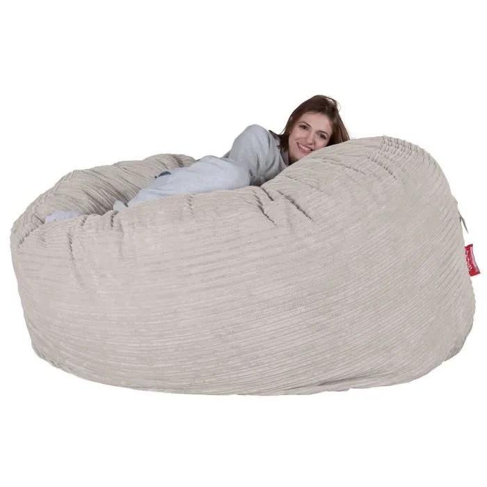 lounge pug canape pouf geant c1000 l