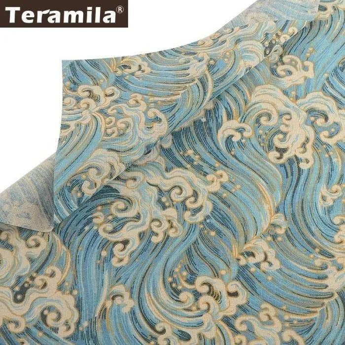 tissus au metre coton lin