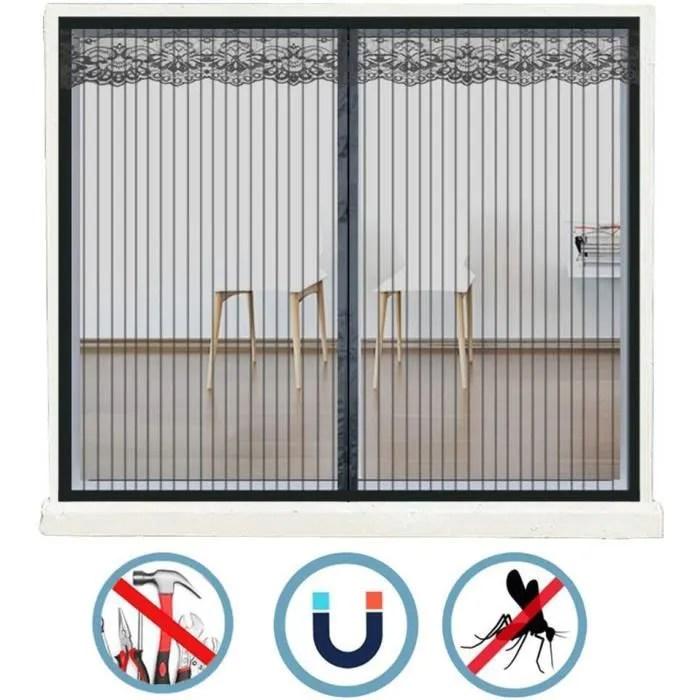 rideau anti mouche pour baie vitree