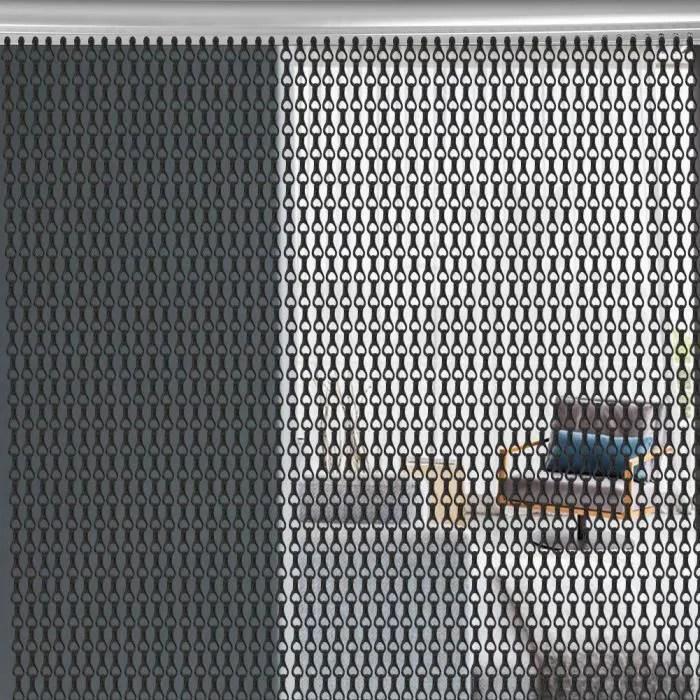 aluminium rideau anti mouche