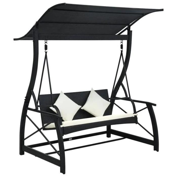 balancelle de jardin confort fauteuil suspendu 2 3