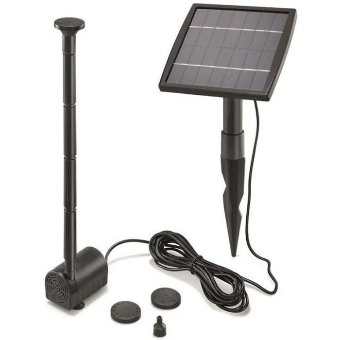 kit pompe solaire vasque ou petit bassin fountain