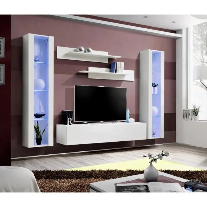 price factory meuble tv fly a2 design coloris b