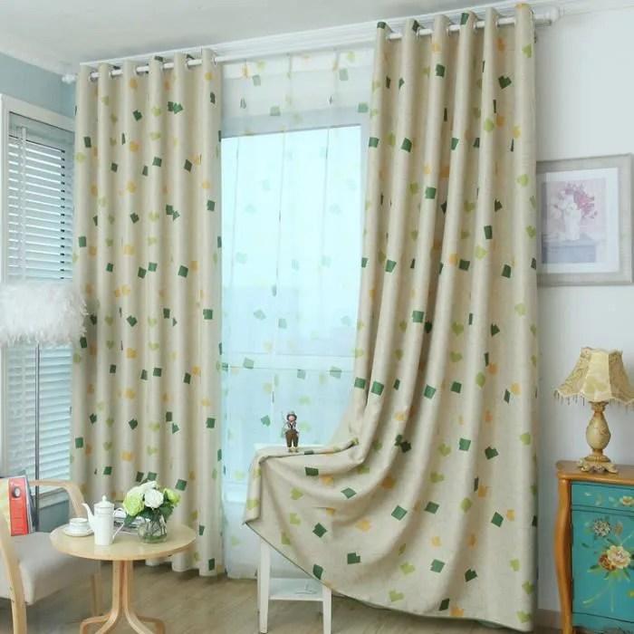 rideaux occultants chambre enfant decoration ridea