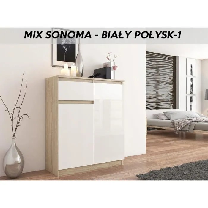 moscow s3 buffet moderne salle a manger 98x80x40 cm commode contemporaine chambre salon bureau meuble de rangement