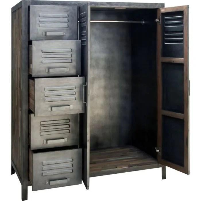 armoire metal 110 x 145 cm besi inwood