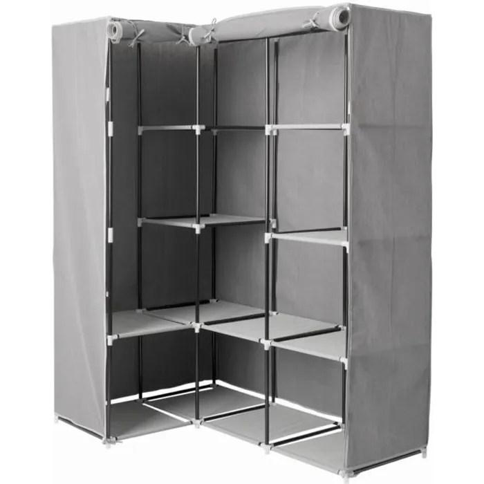 five armoire d angle 1 penderie 10 etages