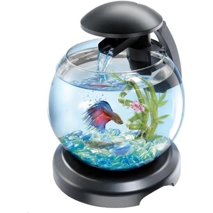 aquarium tetra cascade globe noir