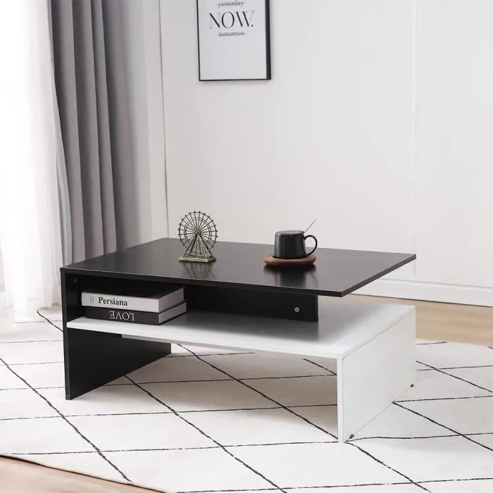 laizere table basse table de salon rectangulaire