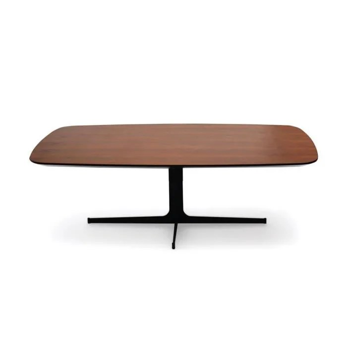 table basse bois woody noyer bois fonce 42 bois fonce