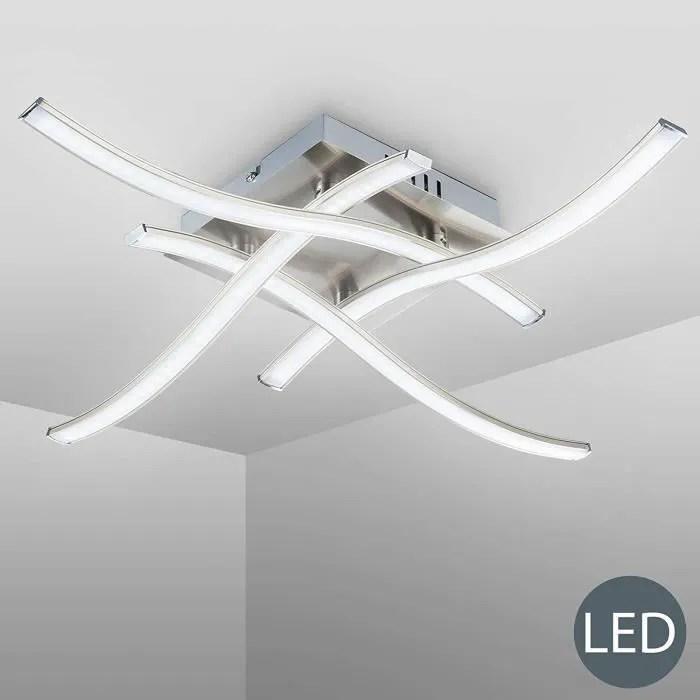 plafonnier led lampe de lustre plafonnier design