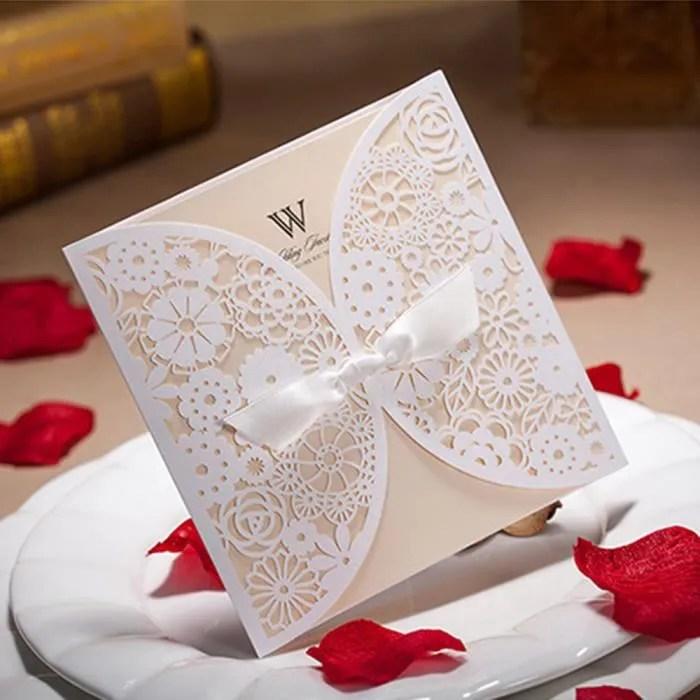 lot de 50 cartes d invitation de mariage faire par