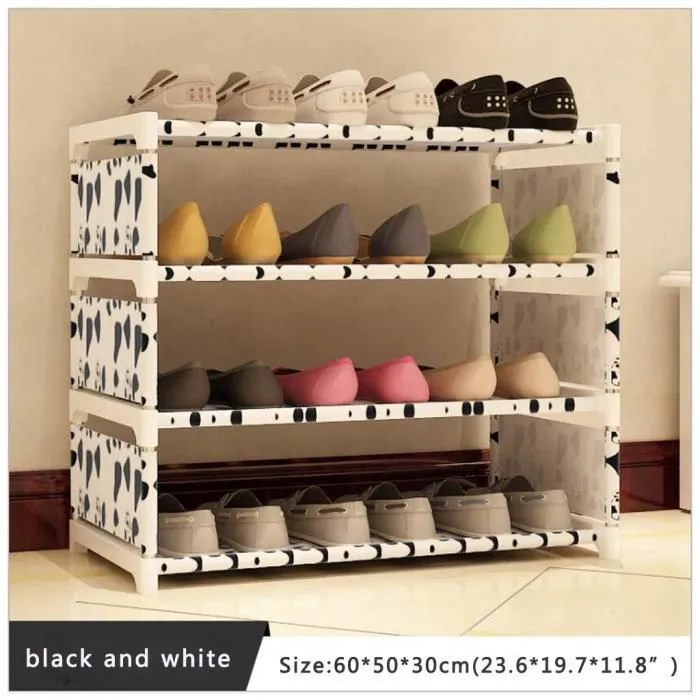 get sh etagere pour tour de chaussures home a 4 niveaux etagere de rangement pour chaussures meuble de rangemen