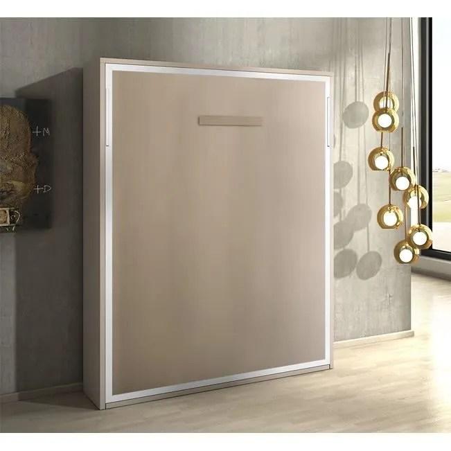 armoire lit escamotable joy chene