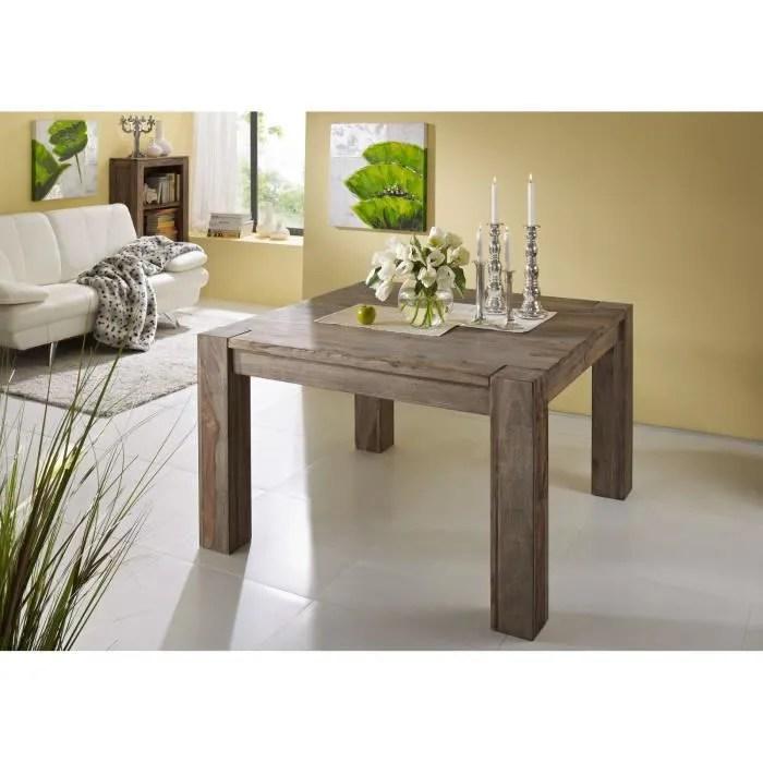 table a manger carree 120x120cm bois massif de p