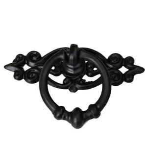 poignee meuble vintage noir