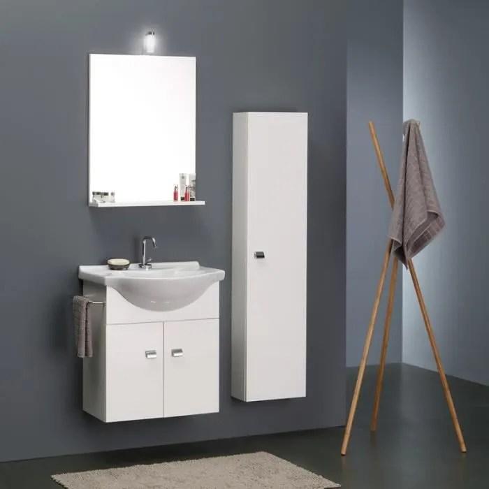 meuble vasque petite profondeur