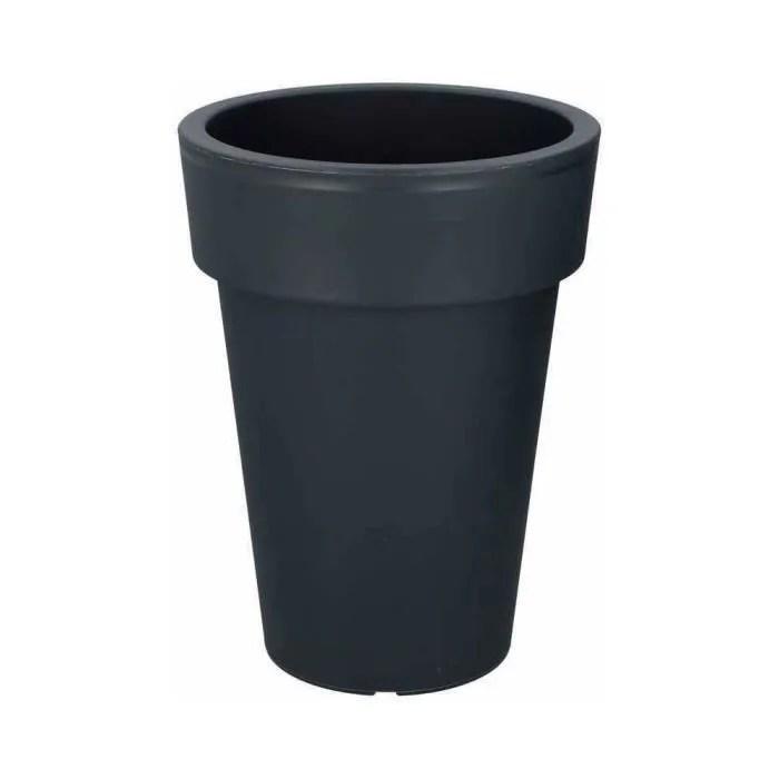pots cache pots cache pot rond o 29 cm gris ant