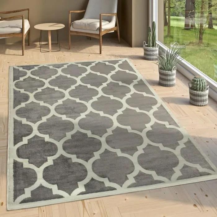 tapis de createur salon tapis tisse a plat moderne